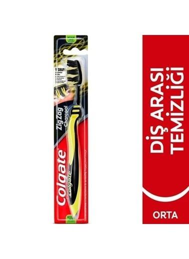 Colgate Colgate Zigzag Chorcoal  Orta Yumuşaklıkta Diş Fırçası  Renksiz